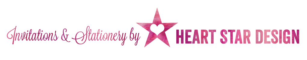 HeartStarDesign   Wedding Invitations & Stationery